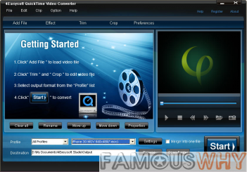 4Easysoft Quicktime Video Converter 3.1.26