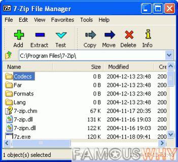 7-Zip 9.18 beta