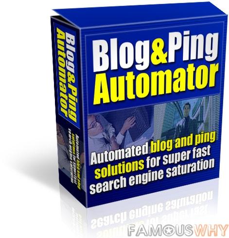 Blog & Ping Automator