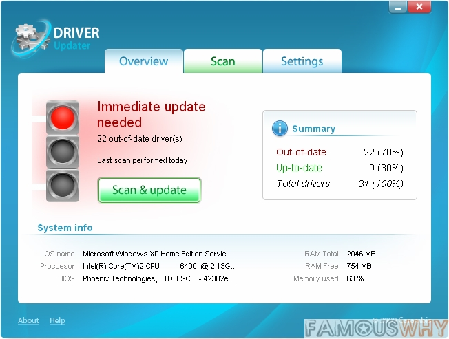 Carambis Driver Updater 2.0.0.4705