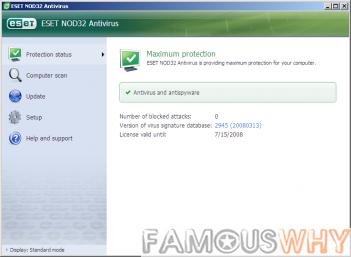 ESET NOD32 Antivirus 6.0.308.0